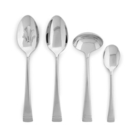 FEDERAL PLATINUM FROSTED 4pc Hostess Set