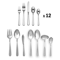 Lenox PEARL PLATINUM 67pc Set