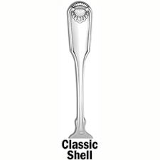 Classic Shell Demitasse Spoon